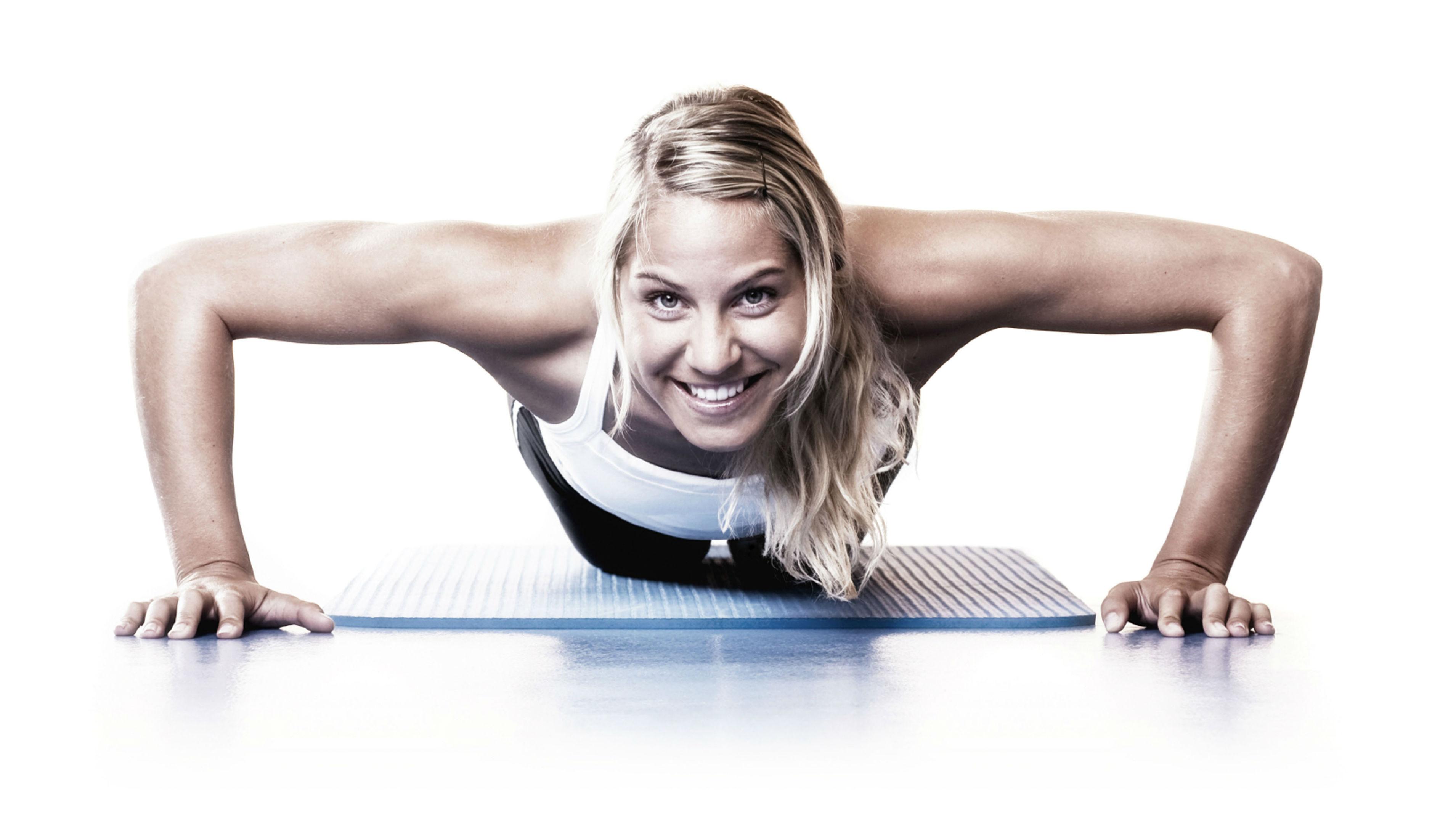 Gimnastika, aerobika, mankšta