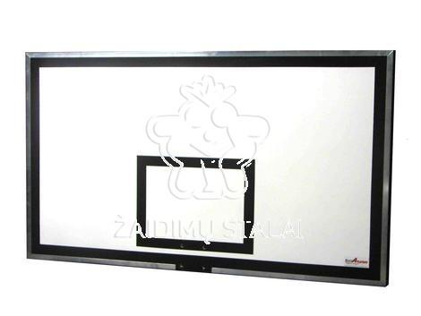 Jachtinės faneros krepšinio lenta, 150 x 100 cm