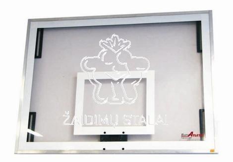 Akrilo plastiko krepšinio lenta, 180 x 105 cm