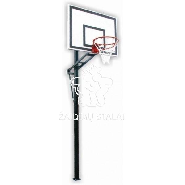 Įbetonuojamas krepšinio stovas Hera (akrilo plastikas)