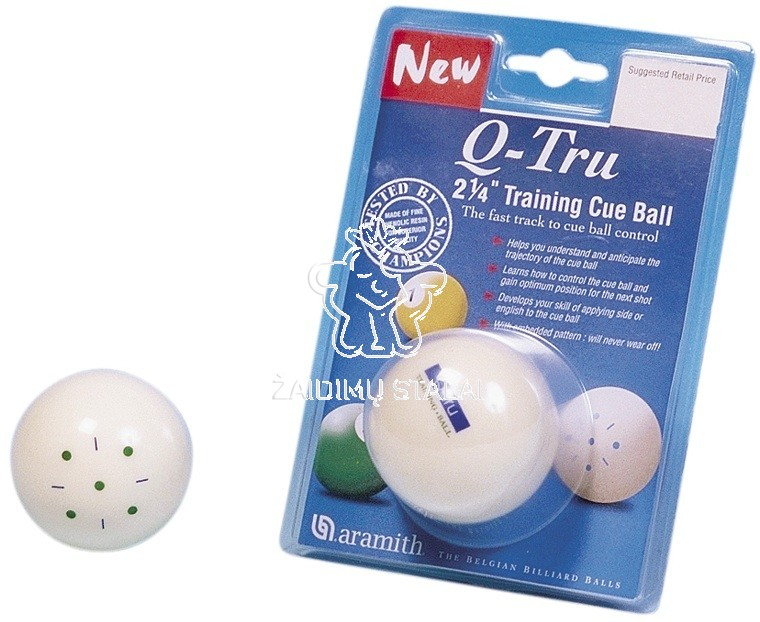 Treniruočių rutulys Q-TRUE, pulo, 57.2mm