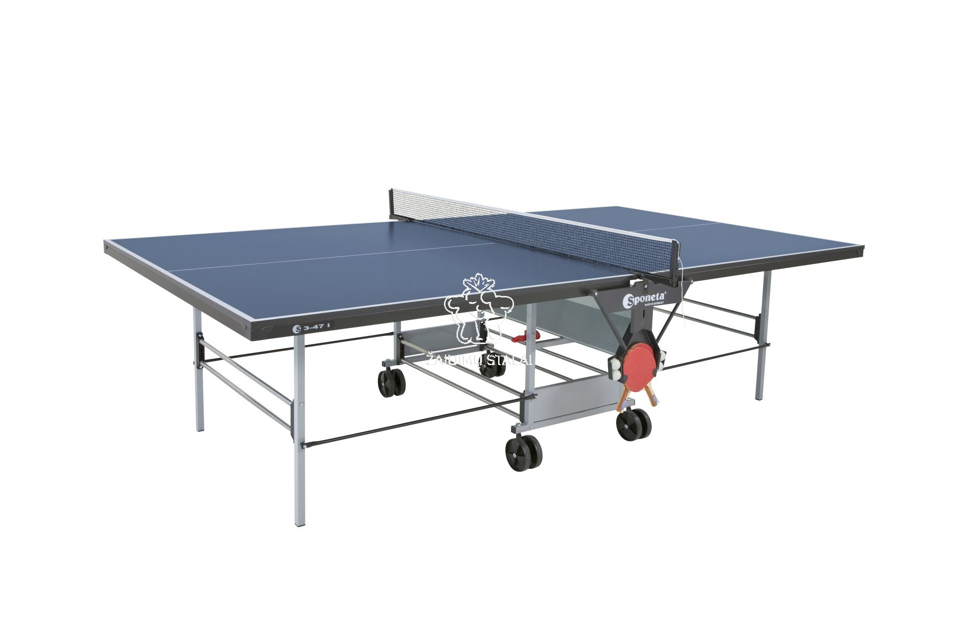 Stalo teniso stalas Sponeta S3-47i, mėlynas, 19mm MDF vidaus