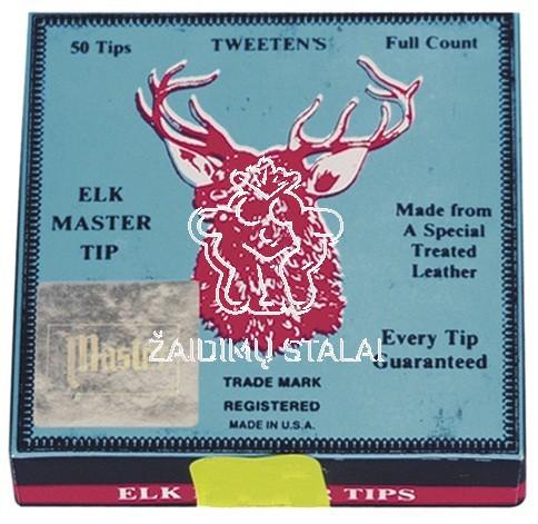 Biliardo lazdos antgalis Elk Master 12mm