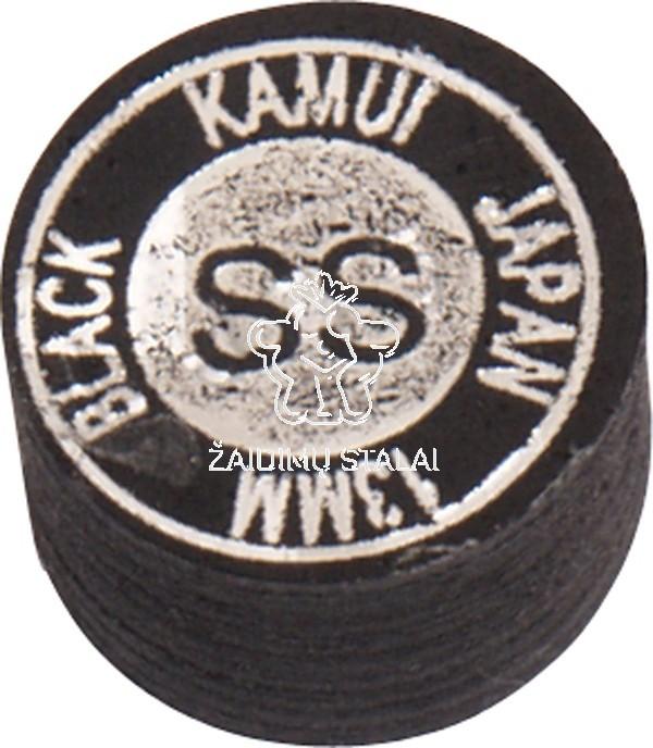 Biliardo lazdos antgalis Kamui Black Super Soft 13mm