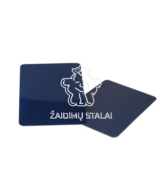 Kortų skirtukas mėlynas