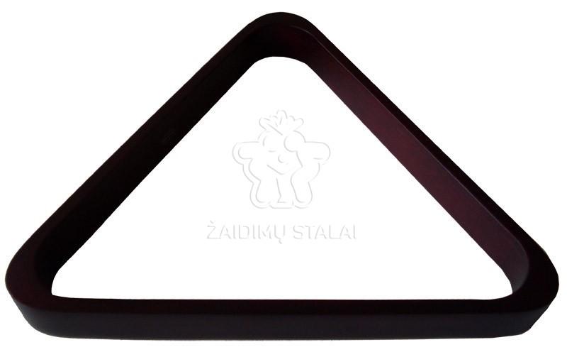 Rusiško biliardo trikampis 68mm, raudonmedžio sp.