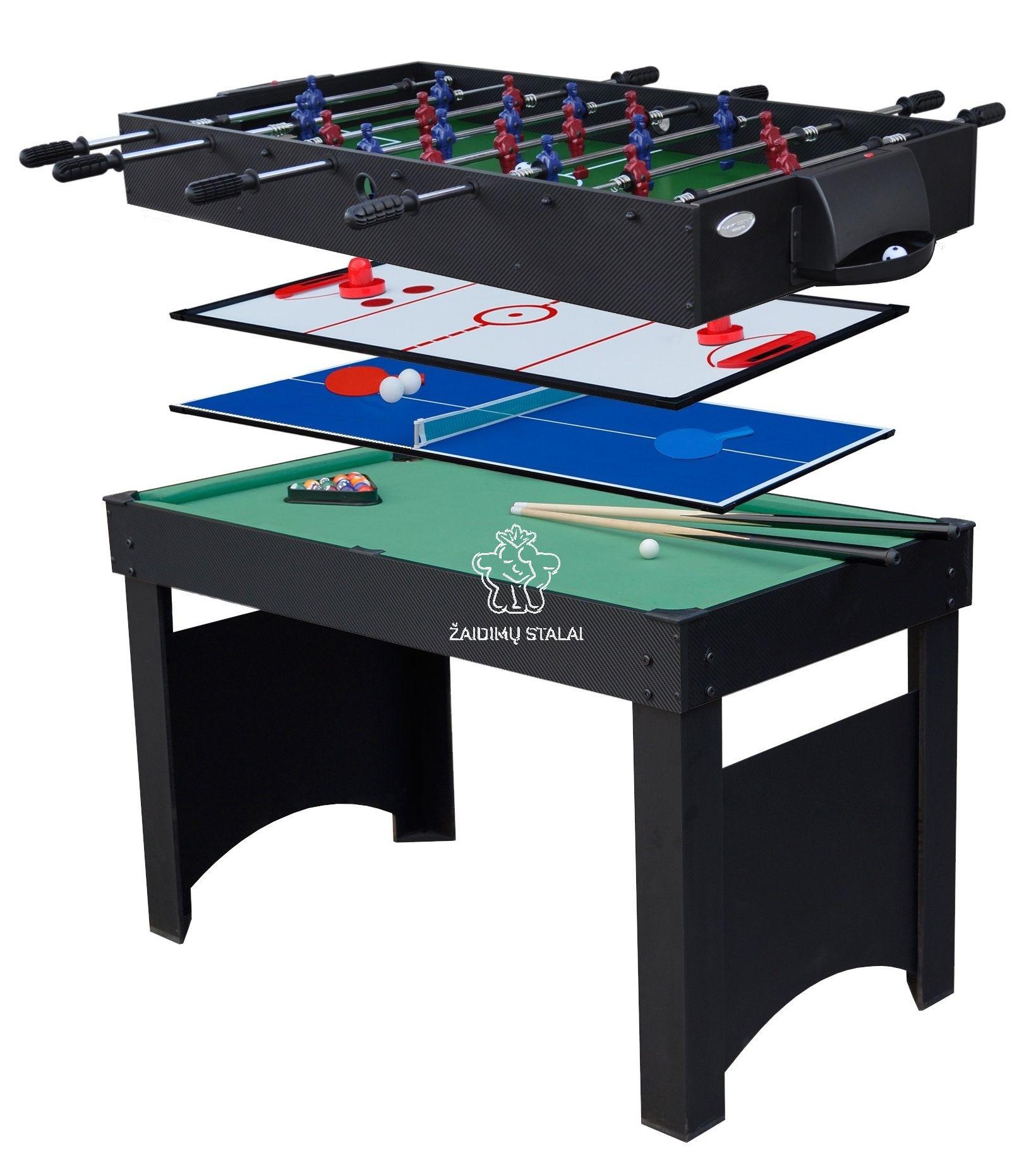 Žaidimų stalas Bex Jupiter 4 in 1