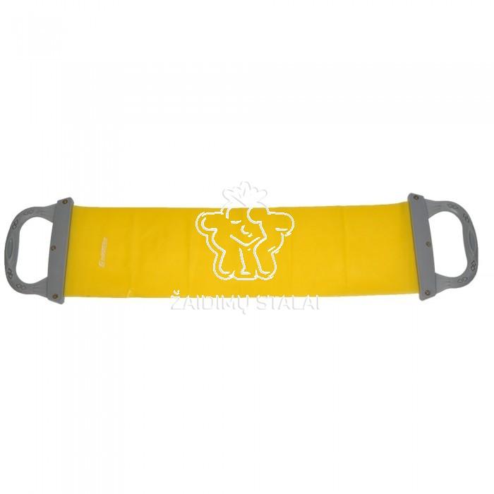 Tampri juosta su rankena InSportline, geltona