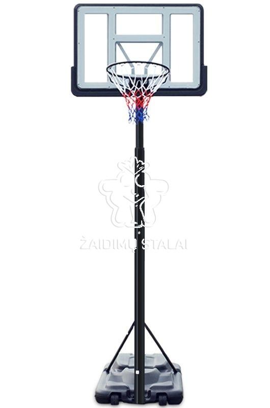 Mobilus krepšinio stovas B-Sport Madison + apsauga + kamuolys