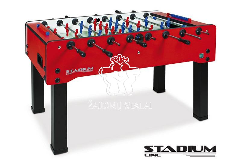 Futbolo stalas STADIUM Red