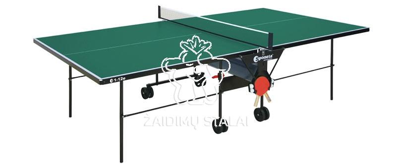 Stalo teniso stalas Sponeta S1-12e, žalias, 4mm melaminas lauko