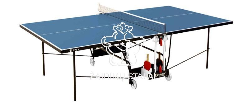 Stalo teniso stalas Sponeta S1-73e, mėlynas, 4mm melaminas lauko