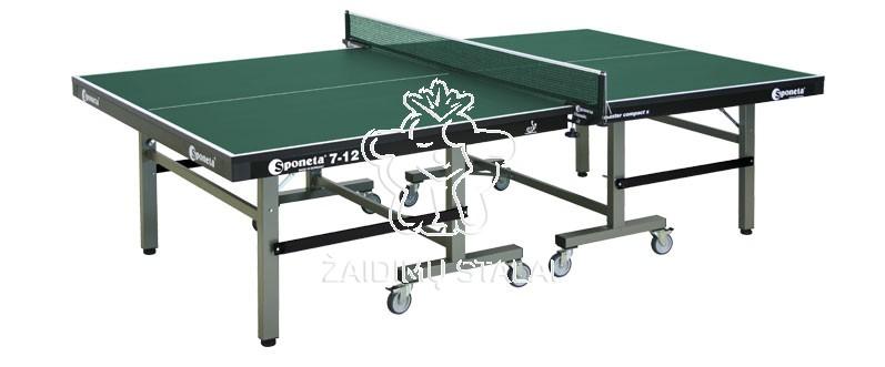 Stalo teniso stalas Sponeta S7-12, žalias, 25mm MDF vidaus