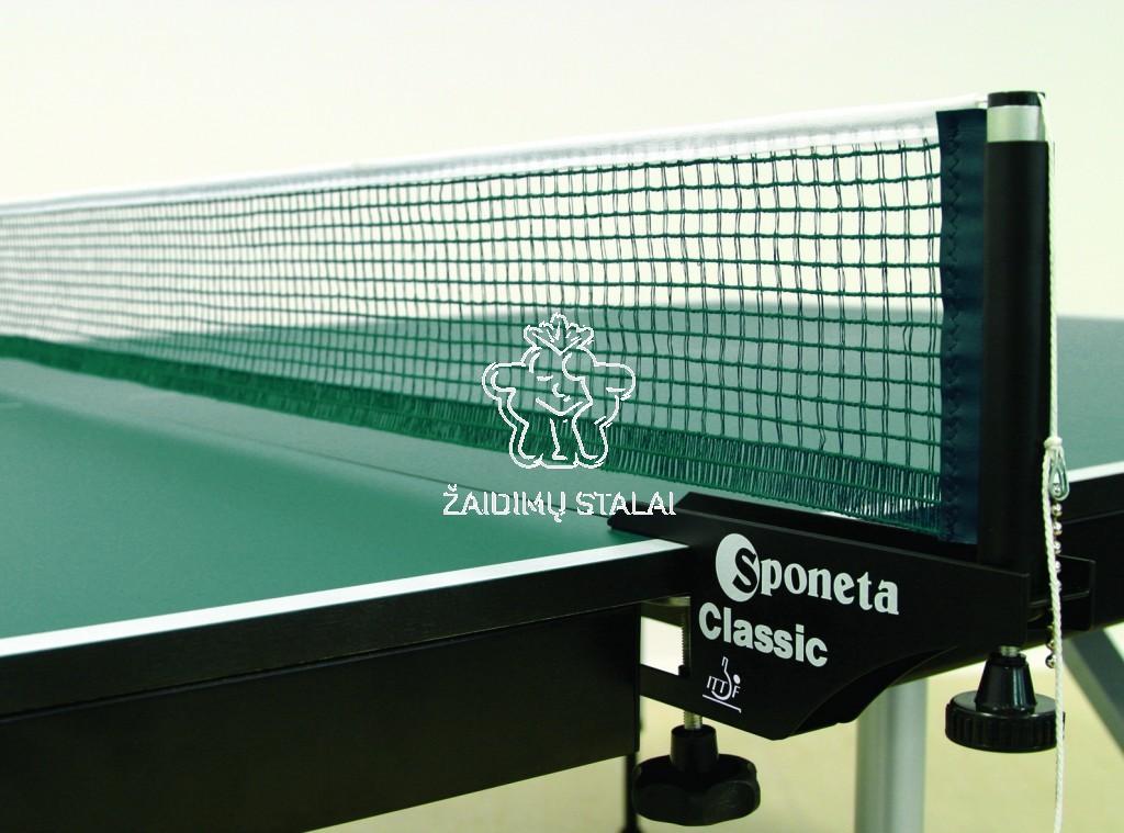 Stalo teniso tinkliuko rinkinys Sponeta Classic ITTF