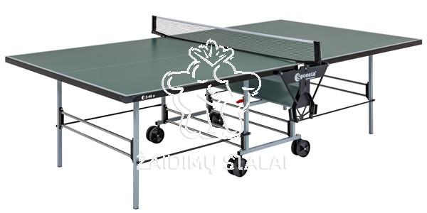 Stalo teniso stalas Sponeta S3-46e,  žalias, 5mm melaminas lauko