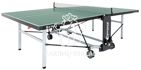 Stalo teniso stalas Sponeta S5-72e, žalias, 6mm melaminas lauko