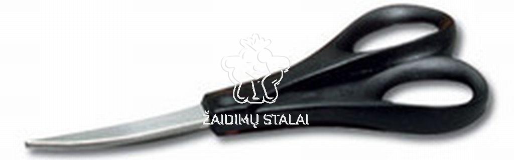 Stalo teniso gumų kirpimo žirklės