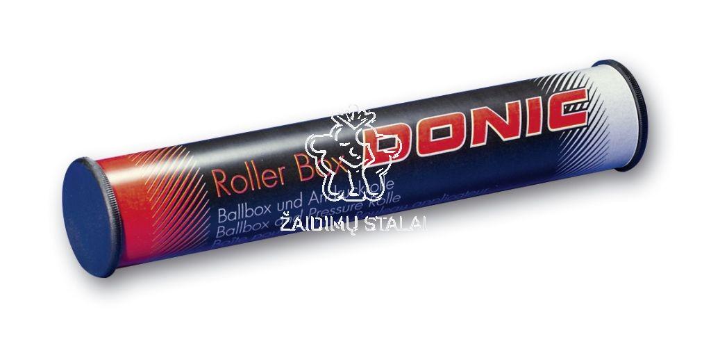 Stalo teniso kamuoliukų dėklas Donic Roller Box