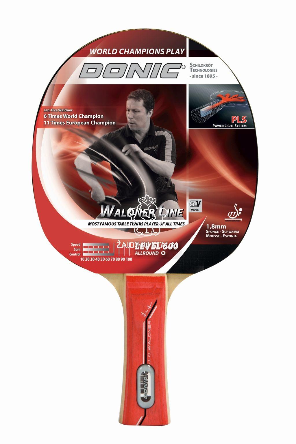 Stalo teniso raketė Donic Waldner 600