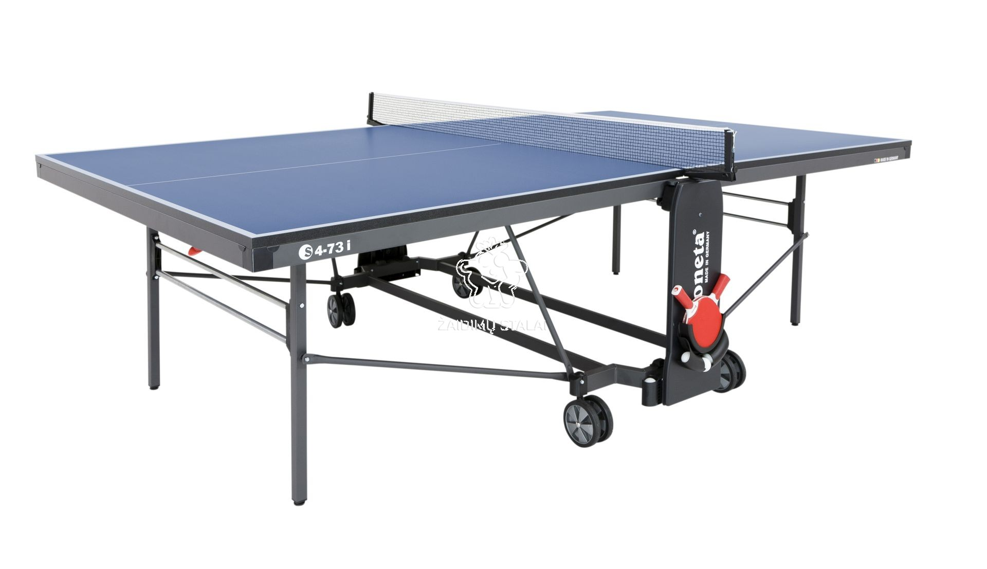 Stalo teniso stalas Sponeta S4-73i, mėlynas, 19mm MDF vidaus