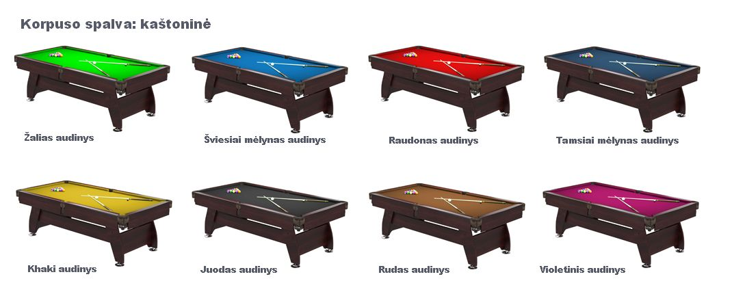 pulo stalas_Q15_rudas_audiniai_pool_table