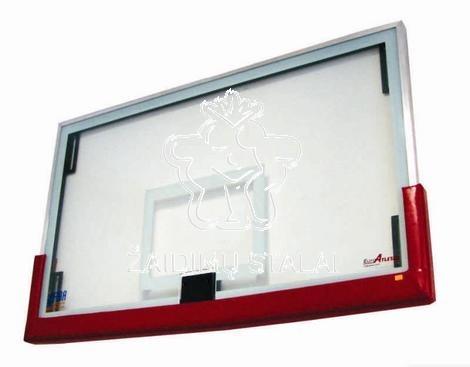 Grūdinto stiklo krepšinio lenta, 180 x 105 cm