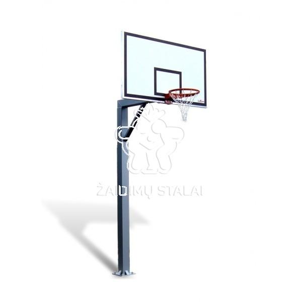 Įbetonuojamas krepšinio stovas Titanas 150 (jachtinė fanera)