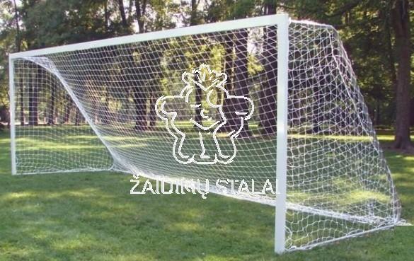 Sumažinti plieniniai futbolo vartai