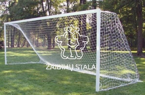Standartiniai plieniniai futbolo vartai