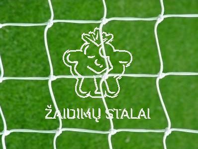 Standartinis futbolo vartų tinklas, 7,5 x 2,5 x 2 x 2 m