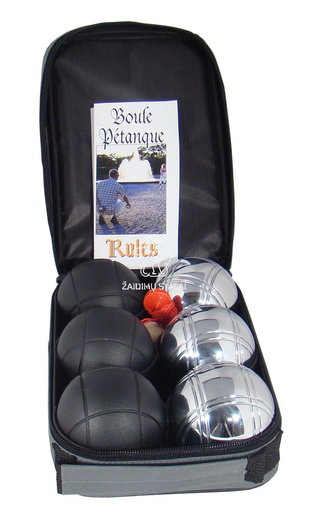 Petankė Provence, 6 kamuoliukai