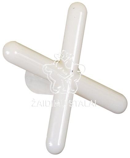 Antgalis pagalbinis X, plastikinis