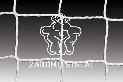Standartinis futbolo vartų tinklas, bemazgis