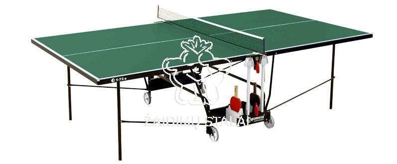 Stalo teniso stalas Sponeta S1-72e, žalias, 4mm melaminas lauko