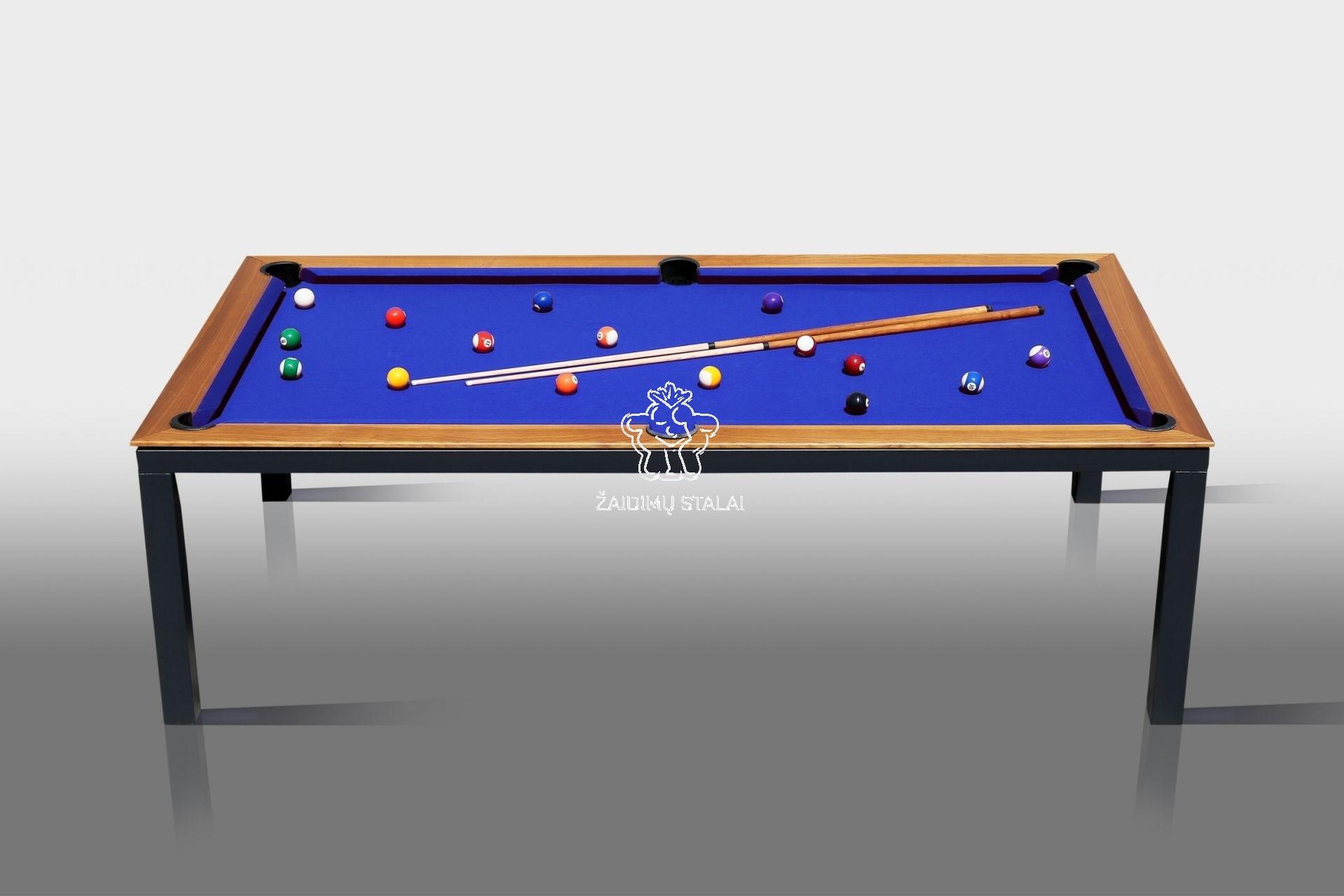Pulo stalas Bilaro Livante 7 pėdų (230x130cm), su komplektacija