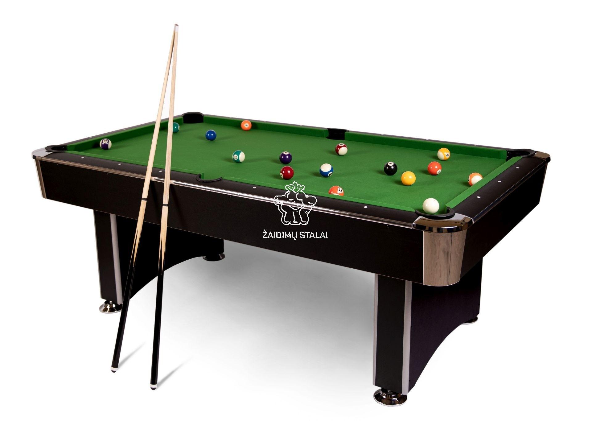 Pulo stalas Bilaro Premier 8' pėdų (242x131 ) su komplektacija