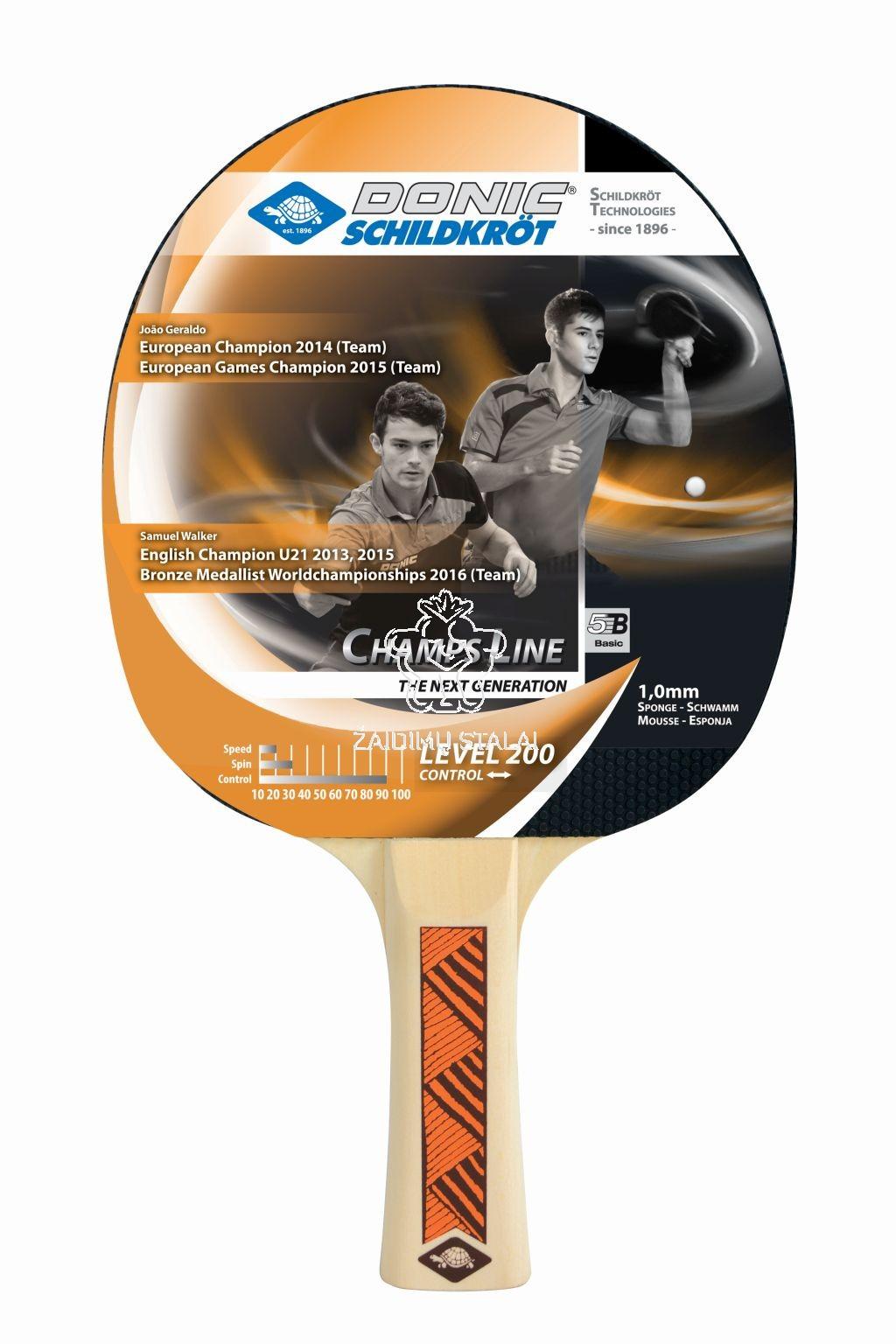 Stalo teniso raketė Donic Young Champs 200