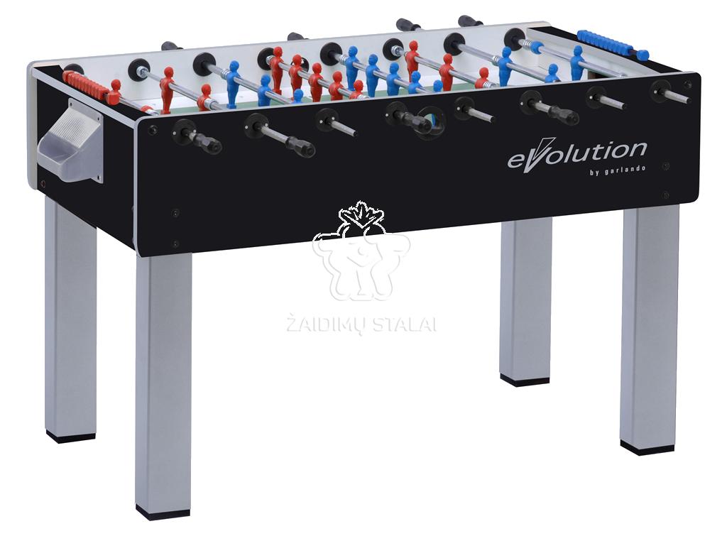 Futbolo stalas Garlando F-200 evolution teleskopiniai strypai