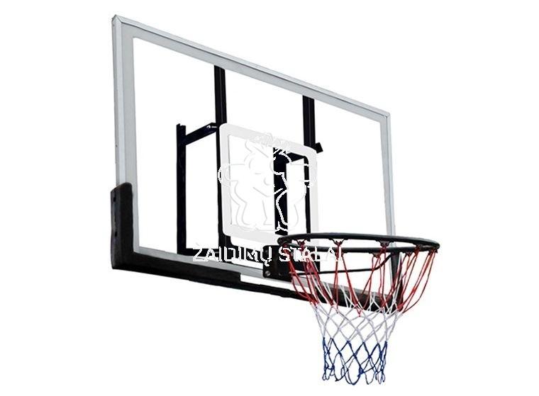 Krepšinio lenta B-Sport Dakota 120x80cm, su lanku ir tinkleliu