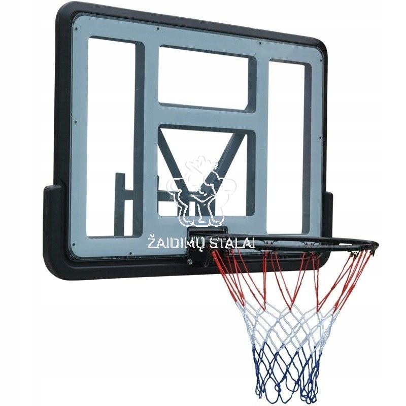 Krepšinio lenta B-Sport Juta 110x75cm, su lanku ir tinkleliu