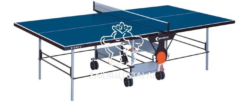 Stalo teniso stalas Sponeta S3-47e, mėlynas, 5mm melaminas lauko