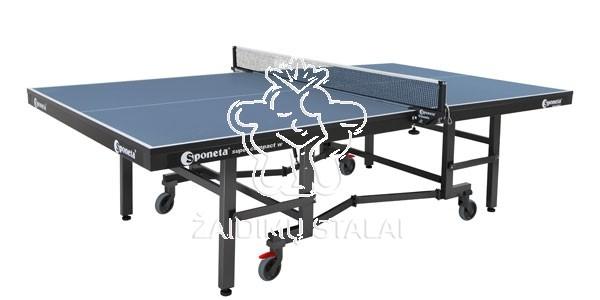 Stalo teniso stalas Sponeta S8-37, mėlynas, 25mm MDF vidaus