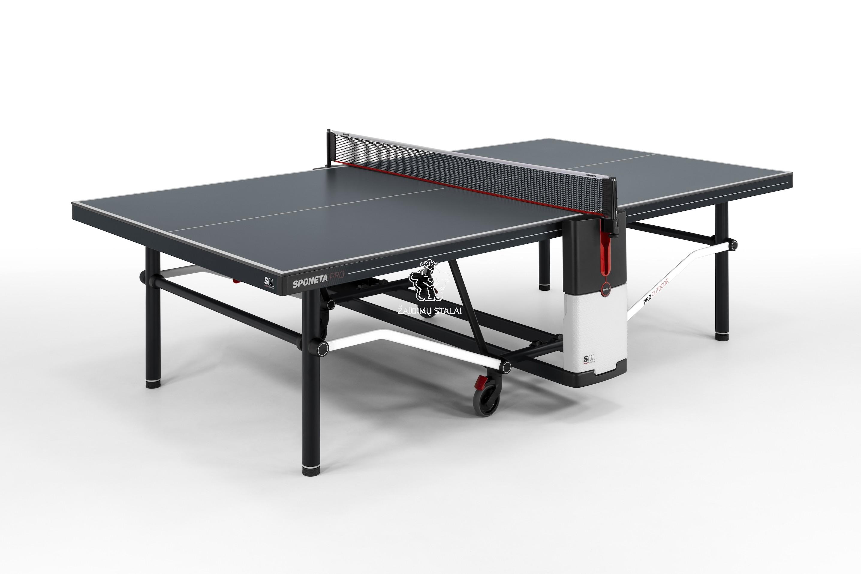 Stalo teniso stalas Sponeta Design Line PRO OUTDOOR