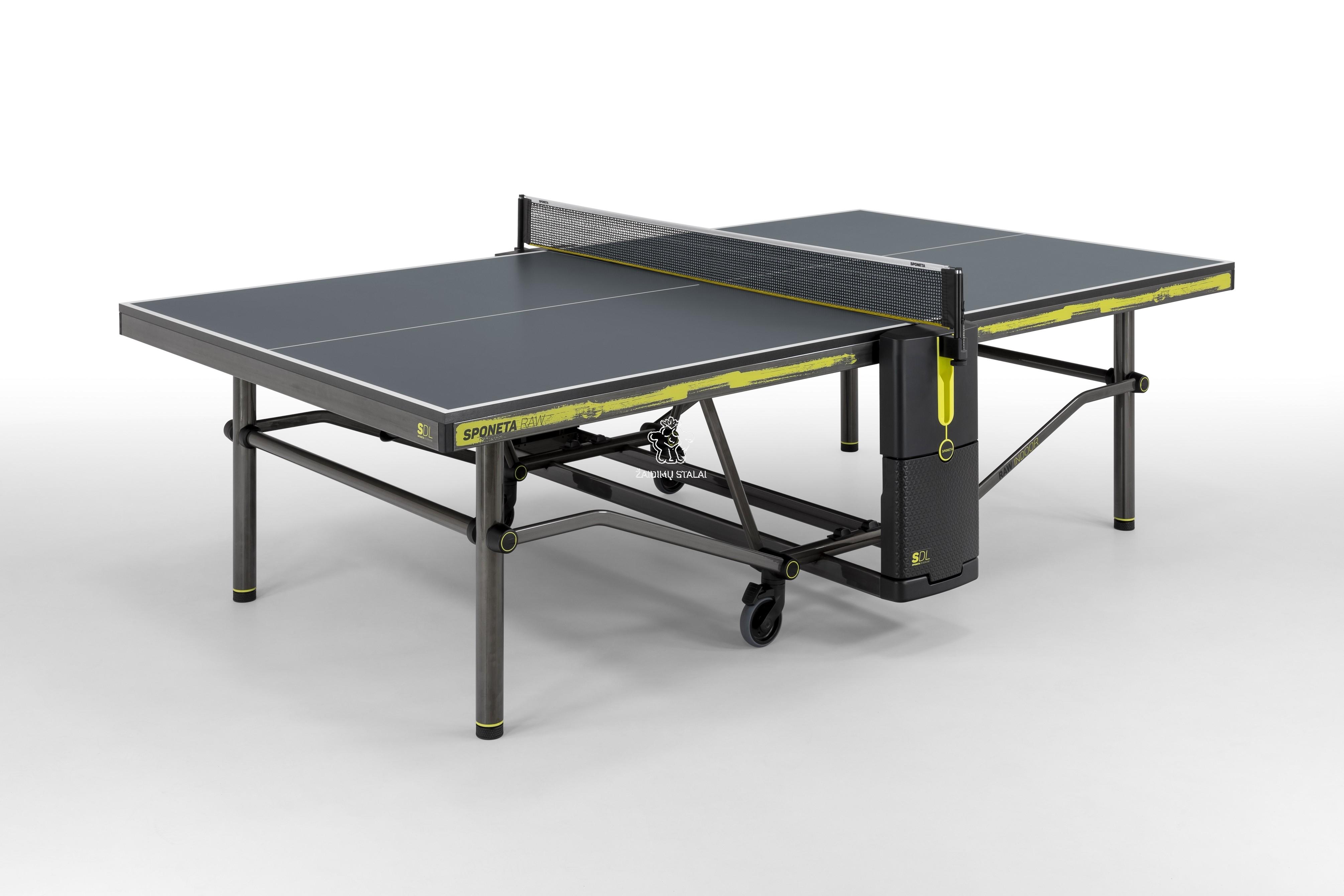 Stalo teniso stalas Sponeta Design Line RAW INDOOR