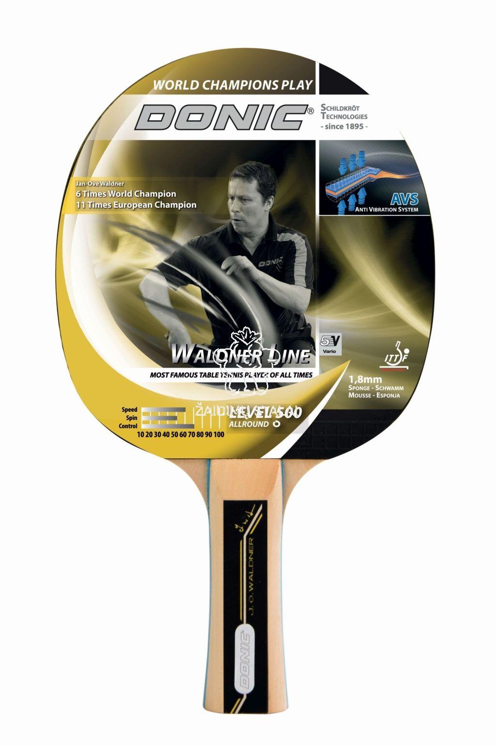 Stalo teniso raketė Donic Waldner 500
