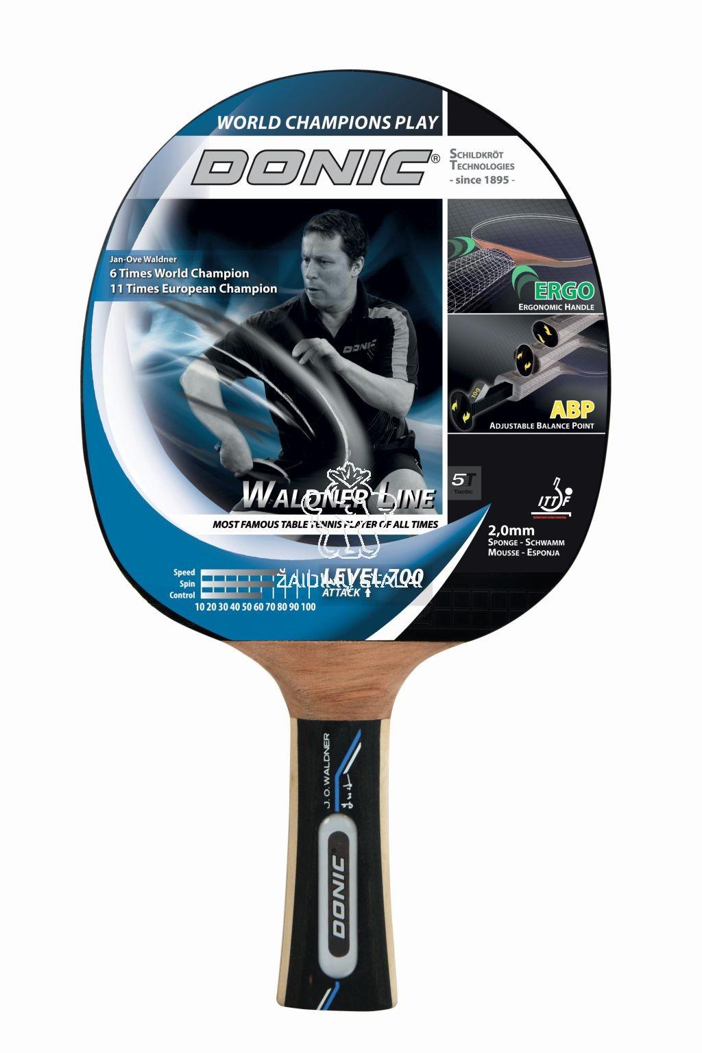 Stalo teniso raketė Donic Waldner 700
