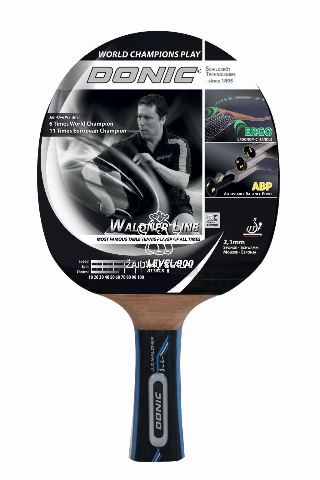 Stalo teniso raketė Donic Waldner 900