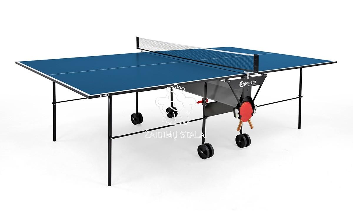 Stalo teniso stalas Sponeta S1-13i, mėlynas, 19mm MDF vidaus