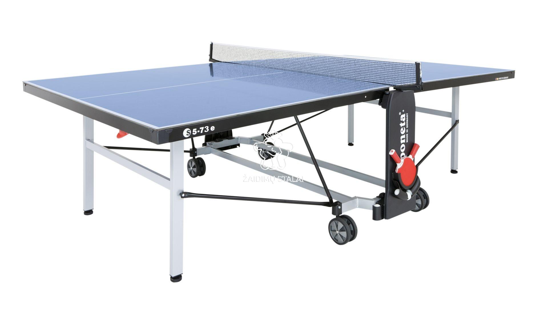 Stalo teniso stalas Sponeta S5-73e, mėlynas, 6mm melaminas lauko