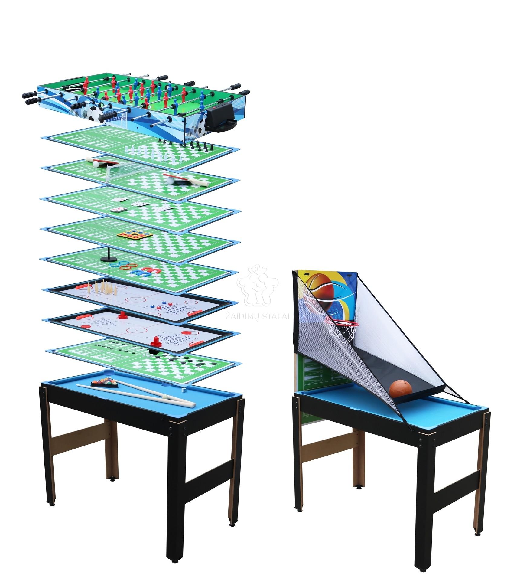 Žaidimų stalas Bilaro Multi 14